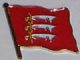 Essex County Flag Enamel Pin Badge